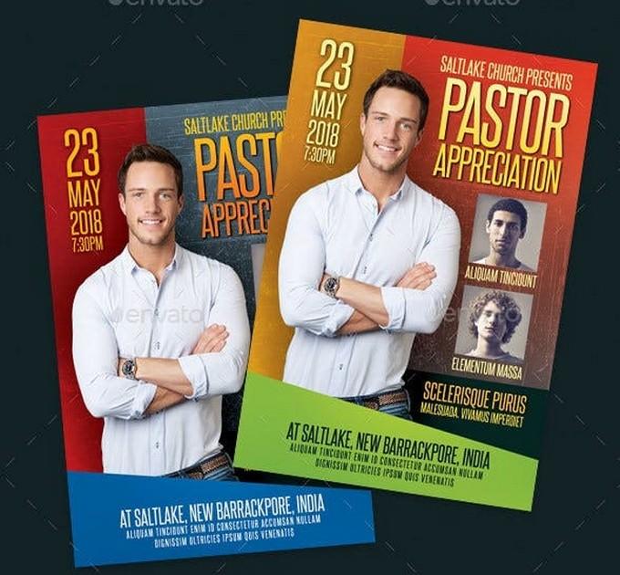 Pastor Appreciation Church Flyer # 2