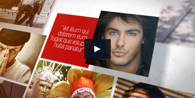 Photo Slideshow 3D II– After Effects Slideshow Template