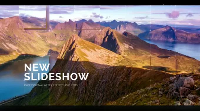 Professional – After Effects Slideshow Template