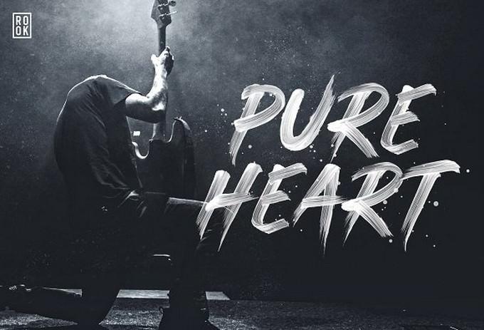 Pure Heart - OpenType SVG Brush Font