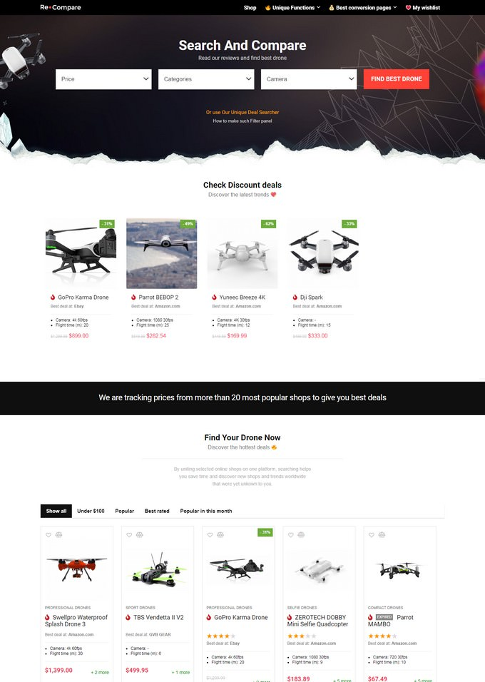 REHub - Affiliate Marketing Community Theme