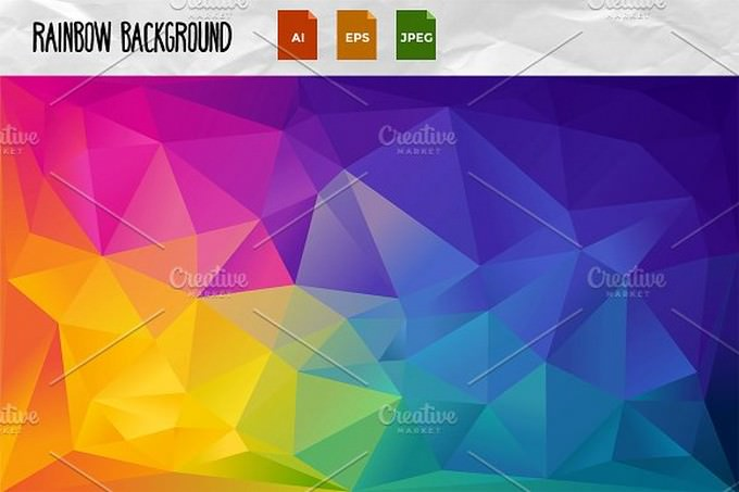 Rainbow Background # 3