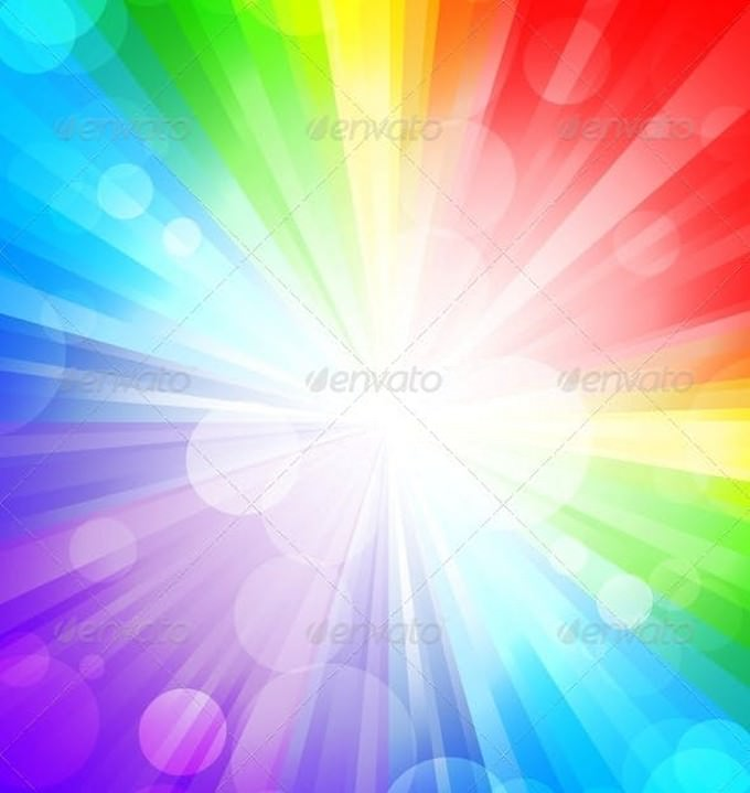 Rainbow Background # 4