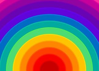 Rainbow Background Colorful