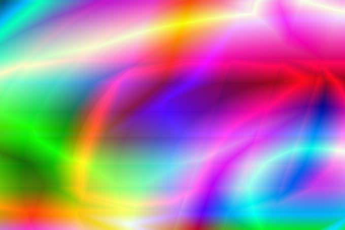 Rainbow Light Pattern Background