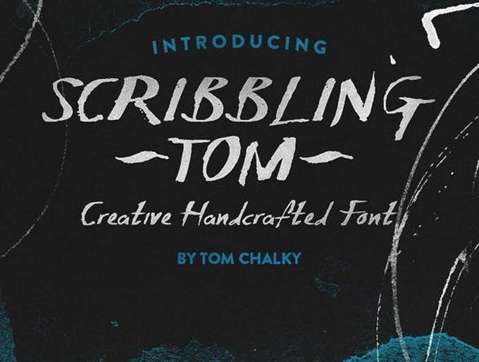 Scribbling Tom