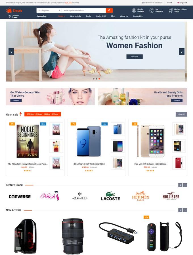 Shopee - Premium Marketplace Responsive Magento Theme