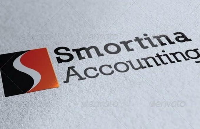 Smortina Accounting Logo Template