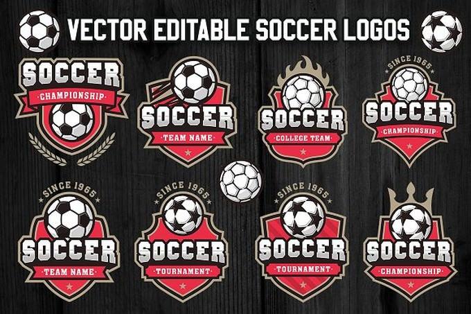 Soccer and Football Logos 3