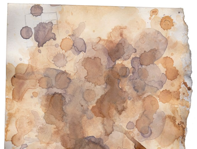 Stained Paper 3 Texture