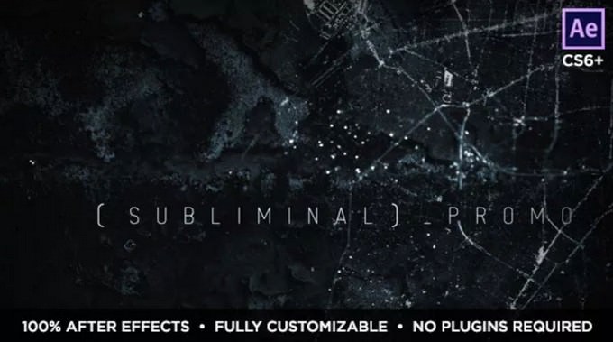 Subliminal– After Effects Slideshow Template