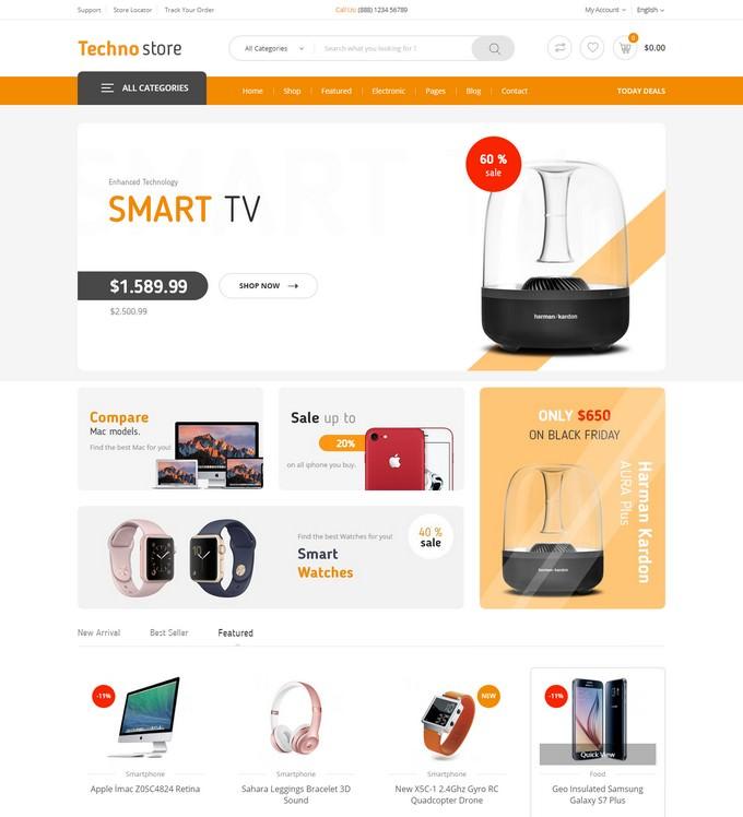 Techno Store - Electronic Magento 2 Theme