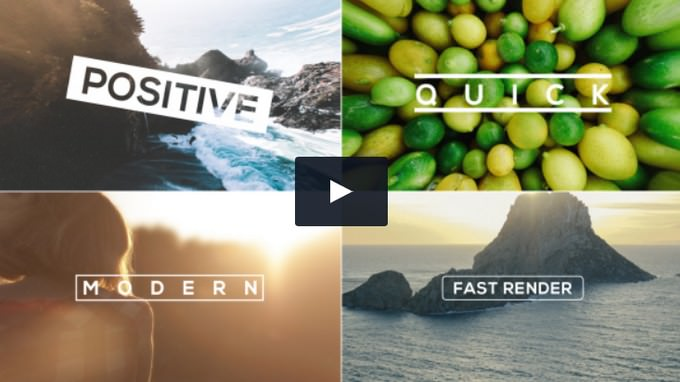 The– After Effects Slideshow Template