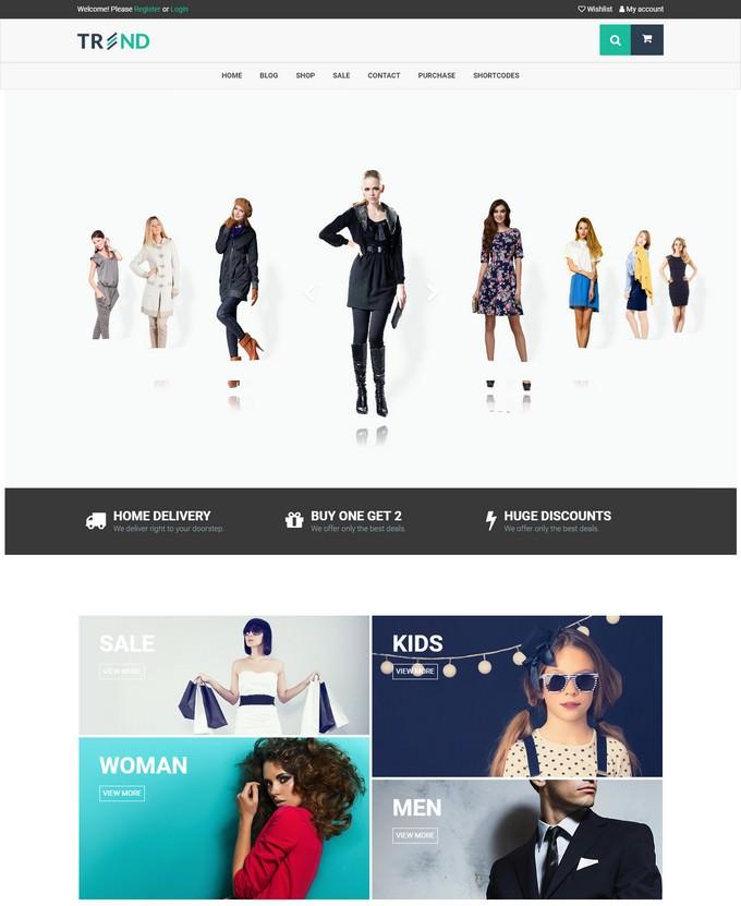 Trend - Fashion WooCommerce WordPress Theme