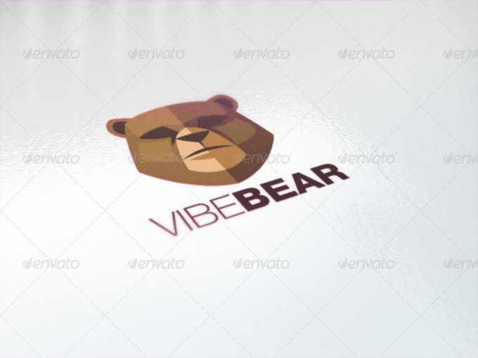 Vibe Bear Logo