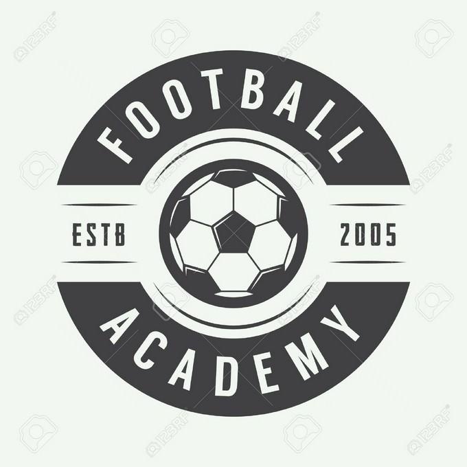 Vintage Football Logo