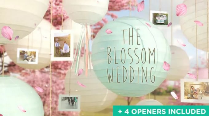 Wedding– After Effects Slideshow Template