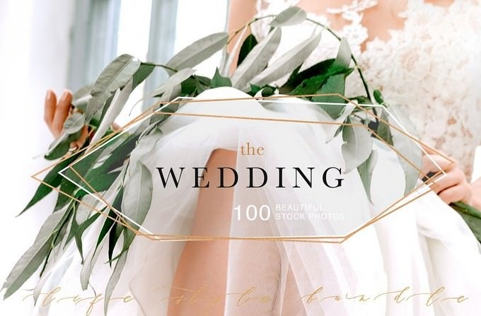 Wedding Bundle 100 Photo Background