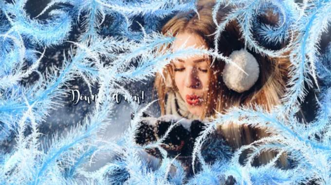 Winter– After Effects Slideshow Template