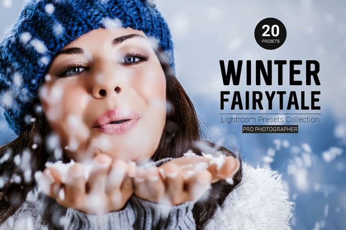 Winter Fairytale Lightroom Preset