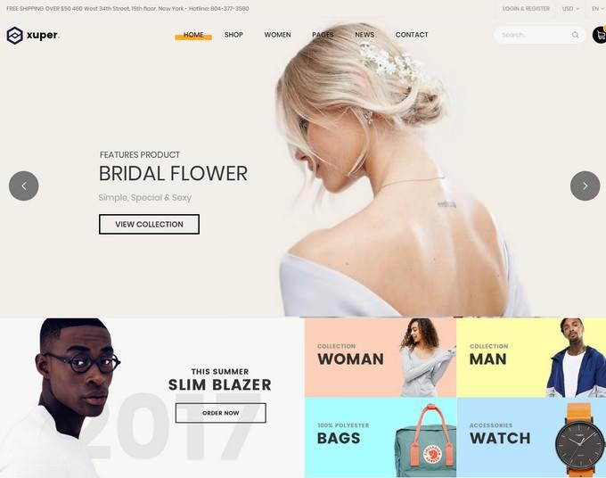 Xuper - Fashion WooCommerce WordPress