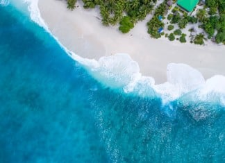 beautiful beach background 1200 × 674