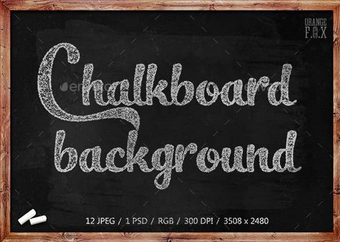 12 Chalkboard Backgrounds