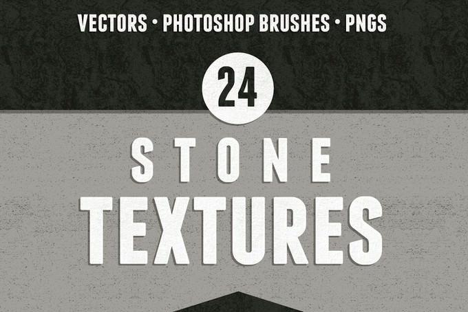 24 Seamless Stone Textures