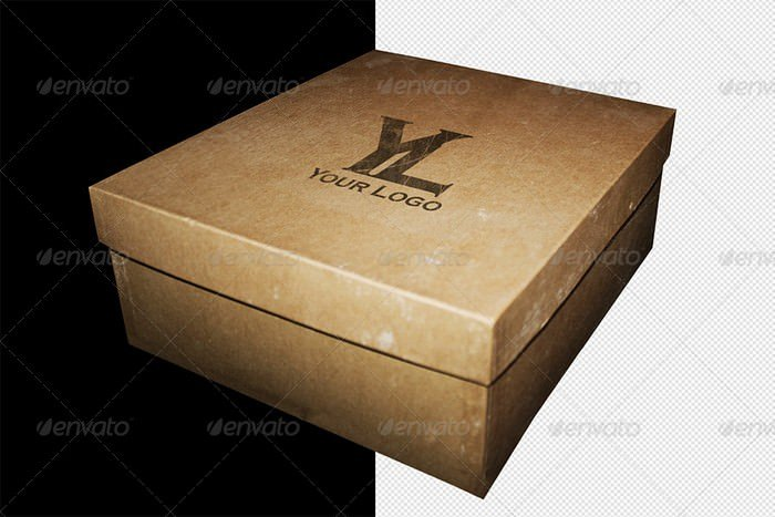 5 Box Mockup