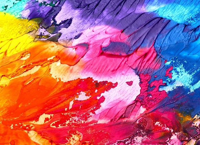 Abstract Art Background Paint
