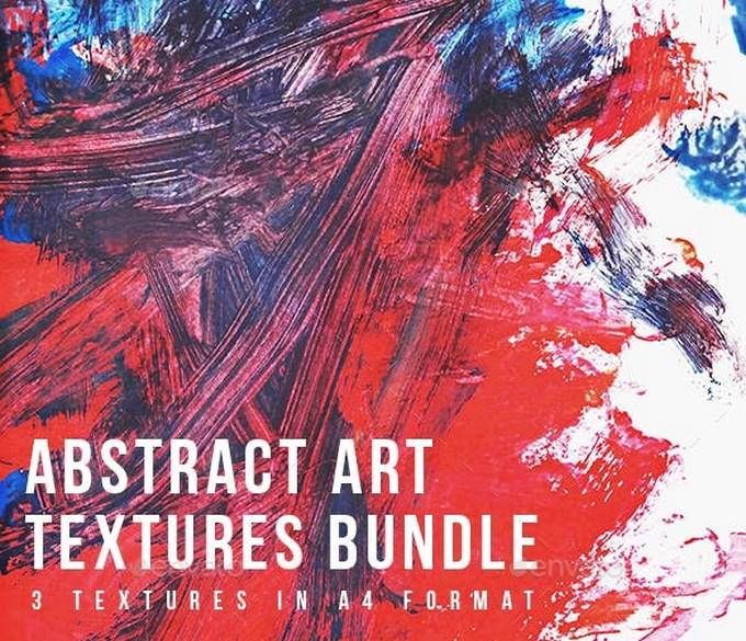 Abstract Art Textures Bundle