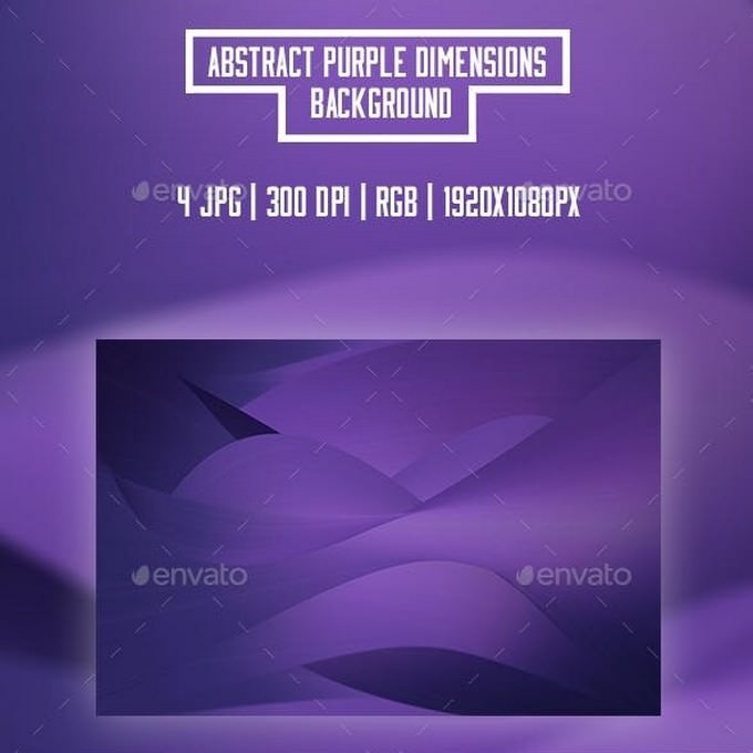 Abstract Purple Dimensions Backgrounds
