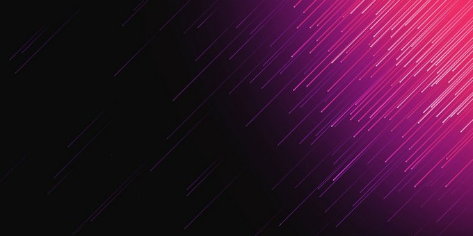 Abstract Purple Lines Artistic Background