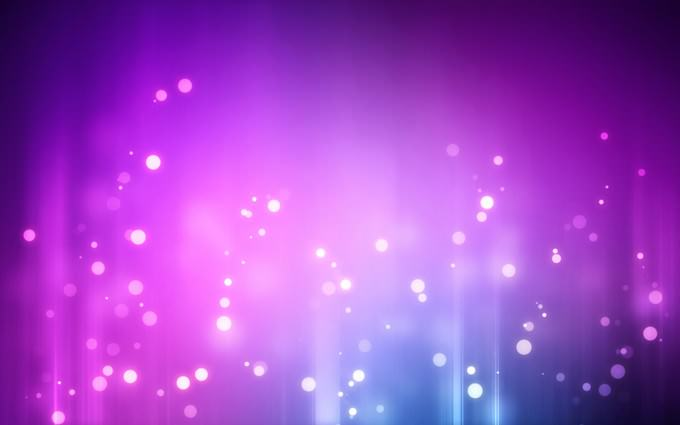 Abstract Purple Linux Background