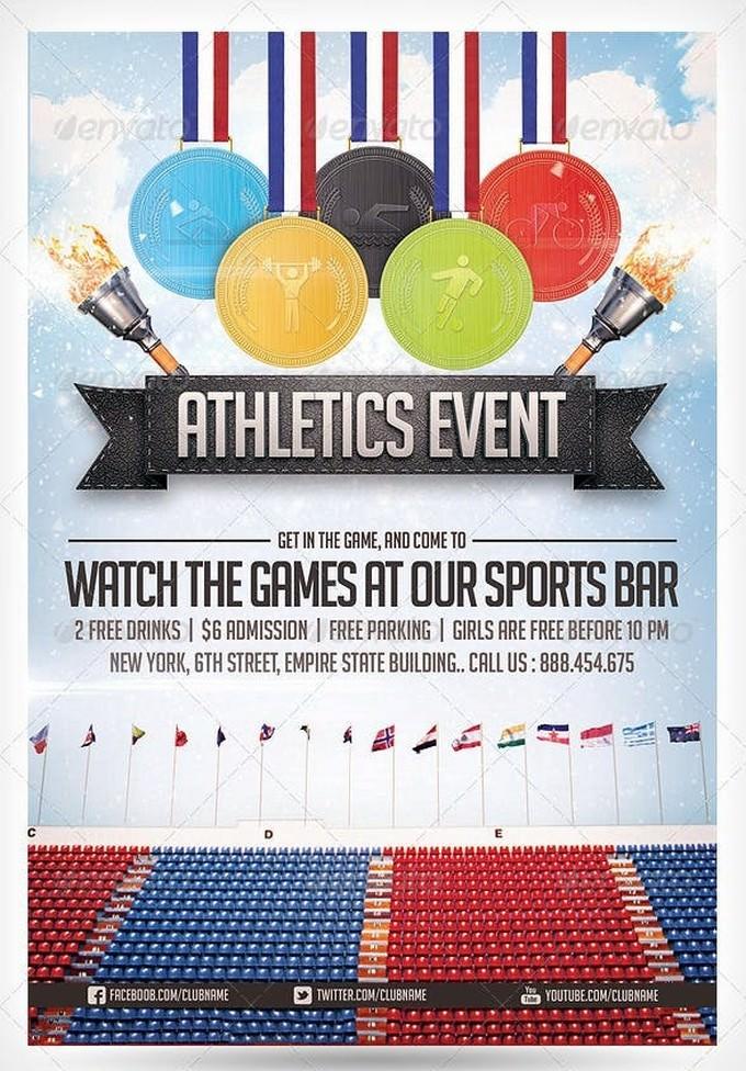 Athletics Sports Flyer