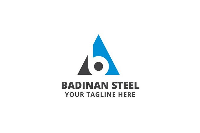 Badinan Steel Logo Template