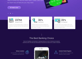 Bank Mortgage - Finance Bootstrap 4 Website Template