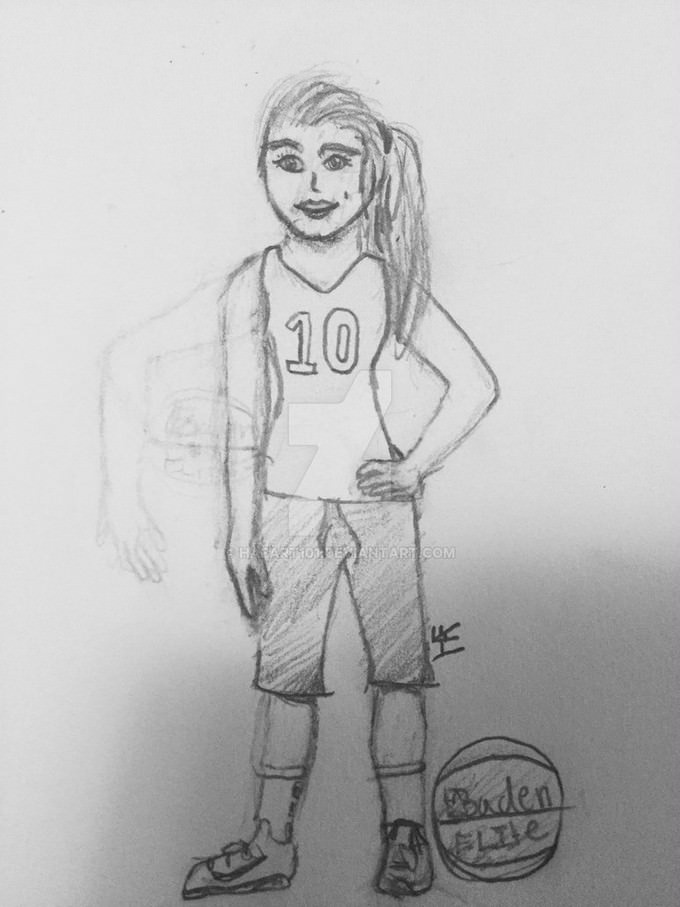 Basketball Drawing # 3