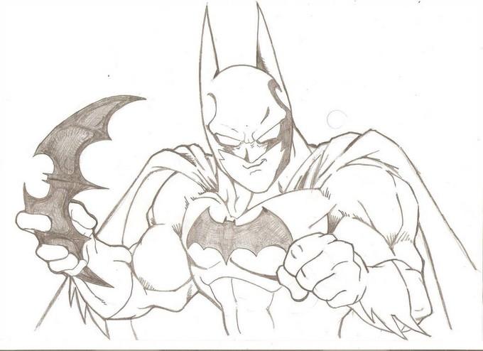 Batman - Akira Toriyama Style Drawing