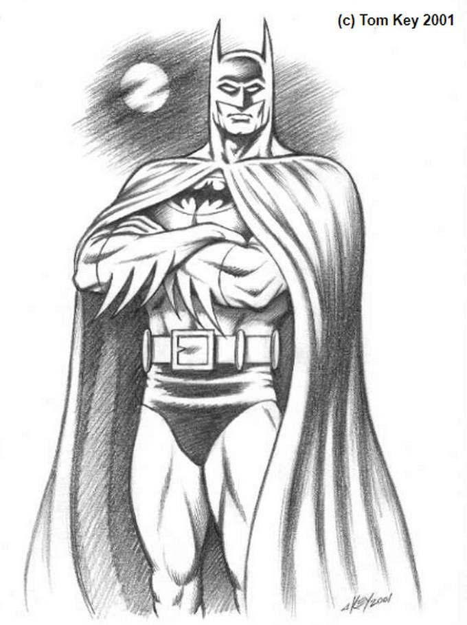 Batman Drawing # 2