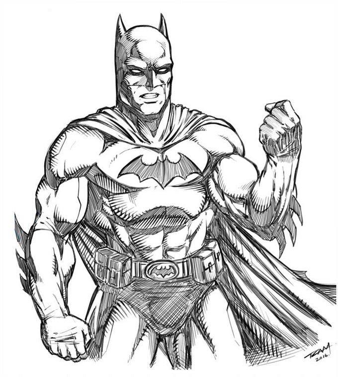 Batman Drawing