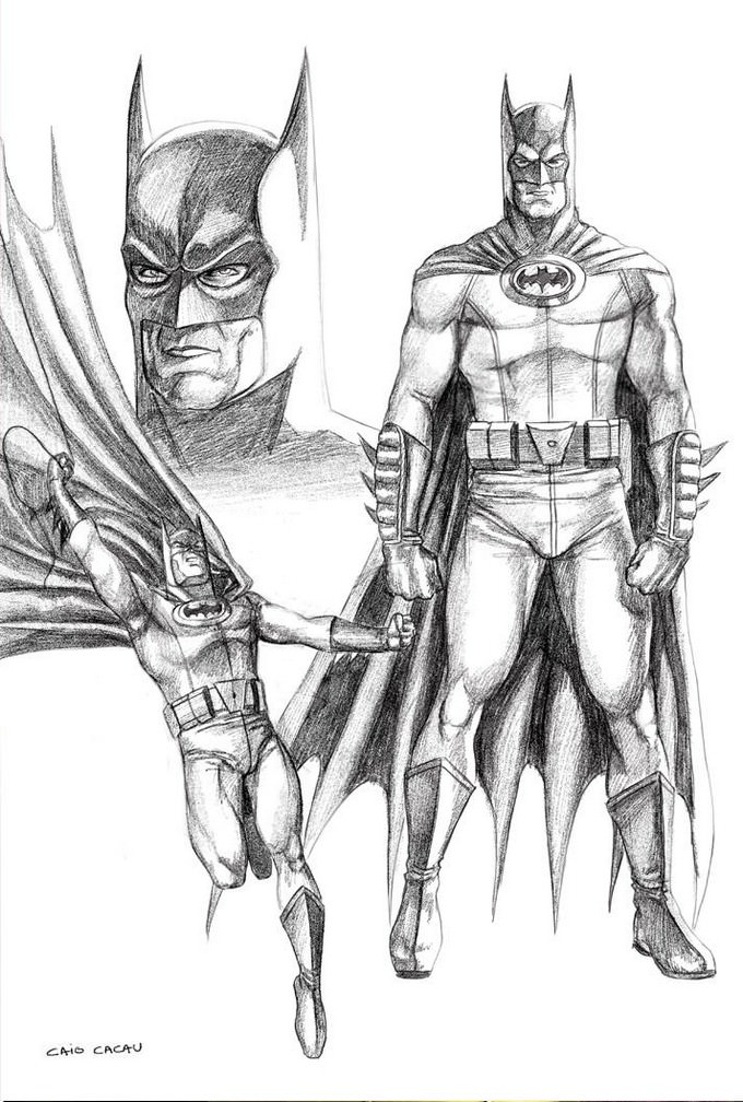 Batman Drawing Sketch Download