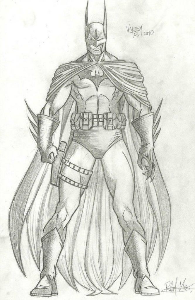 Batman sketch 3 Drawing