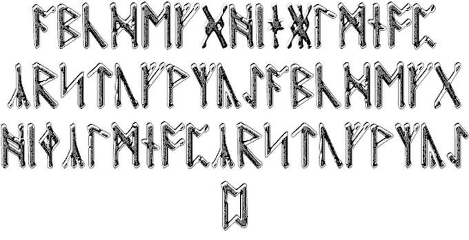 Beowulf Runic Viking Style Font
