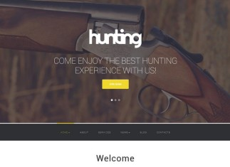 Best Hunting Club WordPress Theme