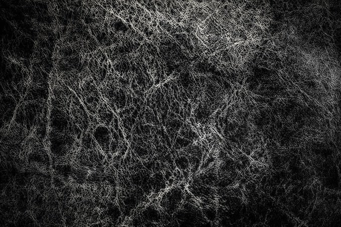 Black Leather Abstract Texture