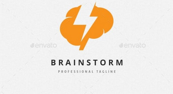 Brainstorm Flash Logo