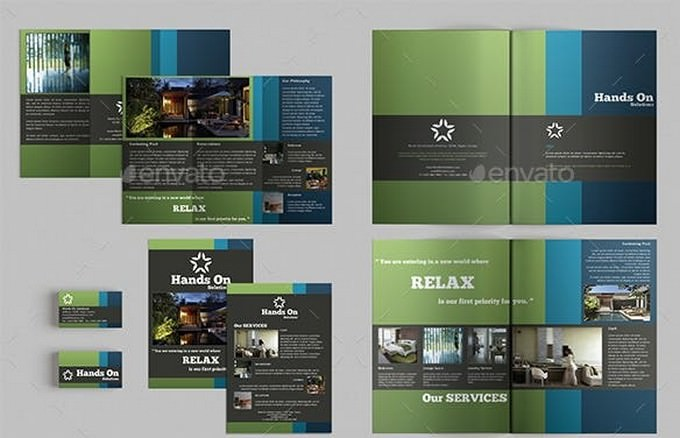 Brochures Pack Set A4