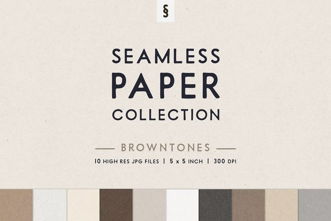Browntone Seamless Paper Backgrounds