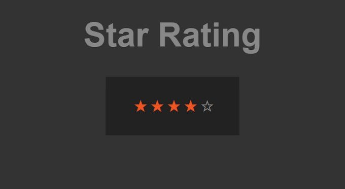 CSS Star Ratings with Radio Buttons